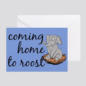 Coming home to roost Greeting Cards (Pk of 10)