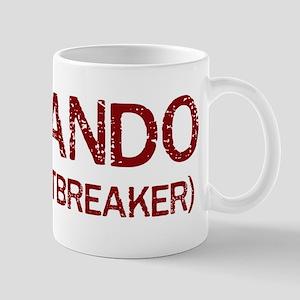 Fernando the heartbreaker Mug