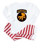 17th Airborne Baby Pajamas