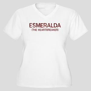 Esmeralda the heartbreaker Women's Plus Size V-Nec