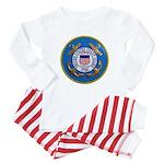 USCG Emblem Baby Pajamas