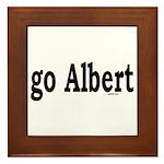 go Albert Framed Tile