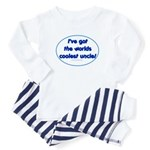 Coolest Uncle Baby Pajamas