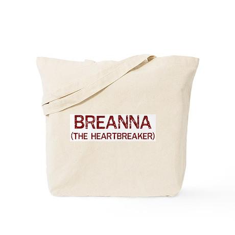 Breanna the heartbreaker Tote Bag