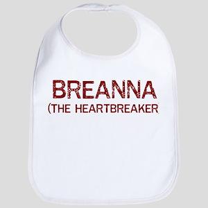 Breanna the heartbreaker Bib