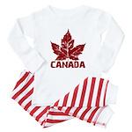 Cool Canada Souvenir Baby Pajamas
