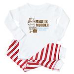 Meat is Murder Baby Pajamas