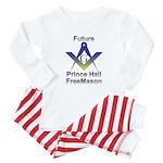 Future Prince Hall Mason Baby Pajamas