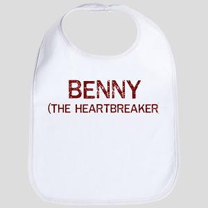 Benny the heartbreaker Bib