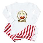 TERRIOT Family Crest Baby Pajamas