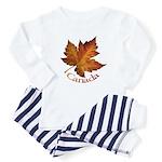 Canada Maple Leaf Souvenir Baby Pajamas