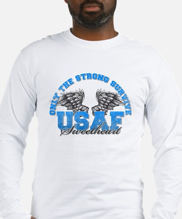 Only the Strong Long Sleeve T-Shirt