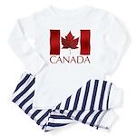 Canadian Flag Baby Pajamas Baby Souvenir