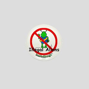 Arizona Ivehadenough of Illegal Aliens Mini Button