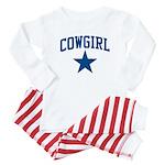 Cowgirl Baby Pajamas