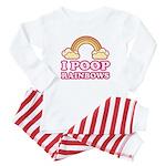 I POOP RAINBOWS - Baby Pajamas