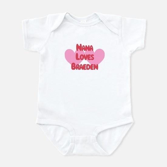 Nana Loves Braeden Infant Bodysuit