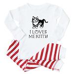 I LOVES ME KITTY - Baby Pajamas