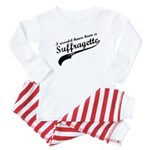 Suffragette Baby Pajamas