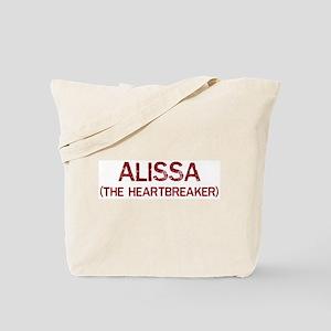Alissa the heartbreaker Tote Bag