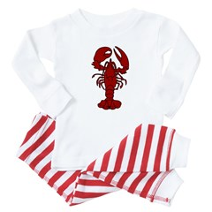 Lobster Baby Pajamas