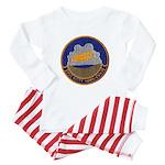 USS KITTY HAWK Baby Pajamas