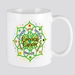 Cervical Cancer Lotus Mug