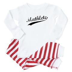 Mathlete Baby Pajamas