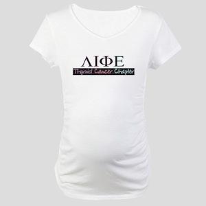 Survivor Society, Thyroid Cha Maternity T-Shirt