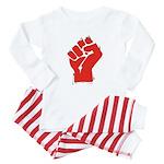 Raised Fist Baby Pajamas