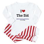 I (Heart) the 3ID Baby Pajamas