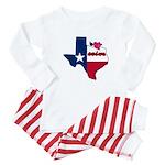 ILY Texas Baby Pajamas