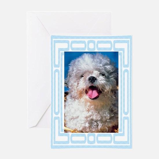 Peekapoo Greeting Card