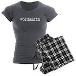 Wordsmith Women's Charcoal Pajamas