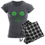 Lucky Charms Women's Charcoal Pajamas