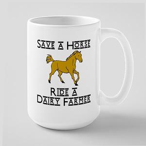 Dairy Farmer Large Mug