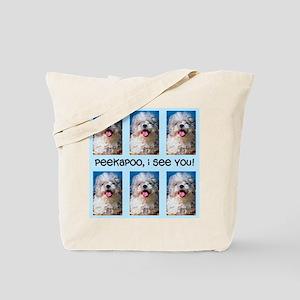 Peekapoo ICU Tote Bag