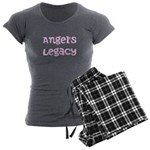 Women's Charcoal Pajamas - pink or black pants!
