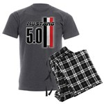Mustang 5.0 BWR Men's Charcoal Pajamas