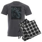 Time Hoarder II Men's Charcoal Pajamas