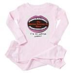 Morton Downey Jr. Pablum Puker Baby Pajamas