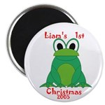 Liam's 1st Christmas Magnet