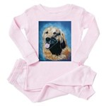 golden retriever Toddler Pink Pajamas