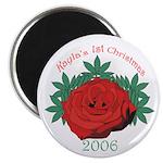 Kayla's 1st Christmas Magnet