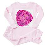 Celtic Rose TriSpiral Toddler Pink Pajamas