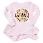 Jumpin' Flea Circus Toddler Pink Pajamas