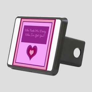 Who Needs Mr. Darcy? Rectangular Hitch Cover