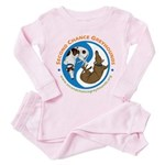 SCG Yin Yang Toddler Pink Pajamas