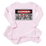 No Obama Zone Toddler Pink Pajamas