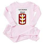 130th ENGINEER BRIGADE Toddler Pink Pajamas